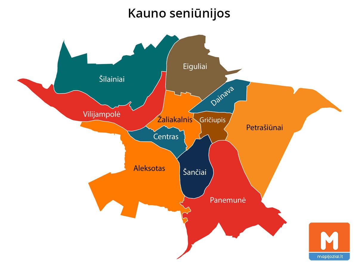 Kauno seniūnijos