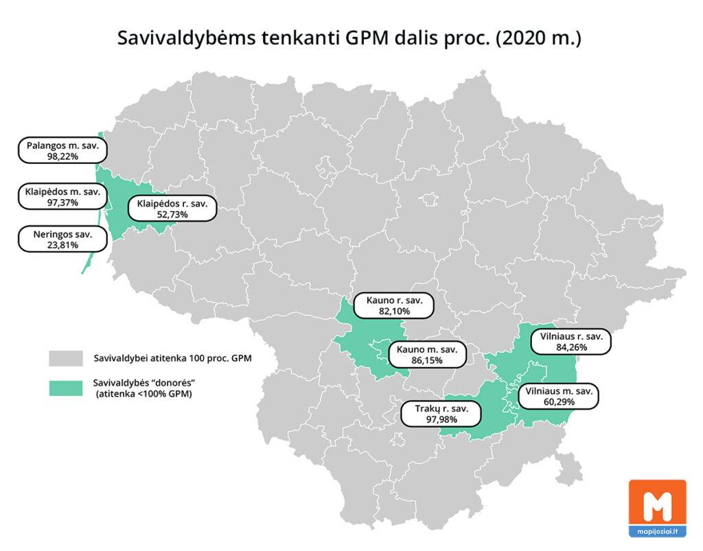Savivaldybių GPM 2020 m.
