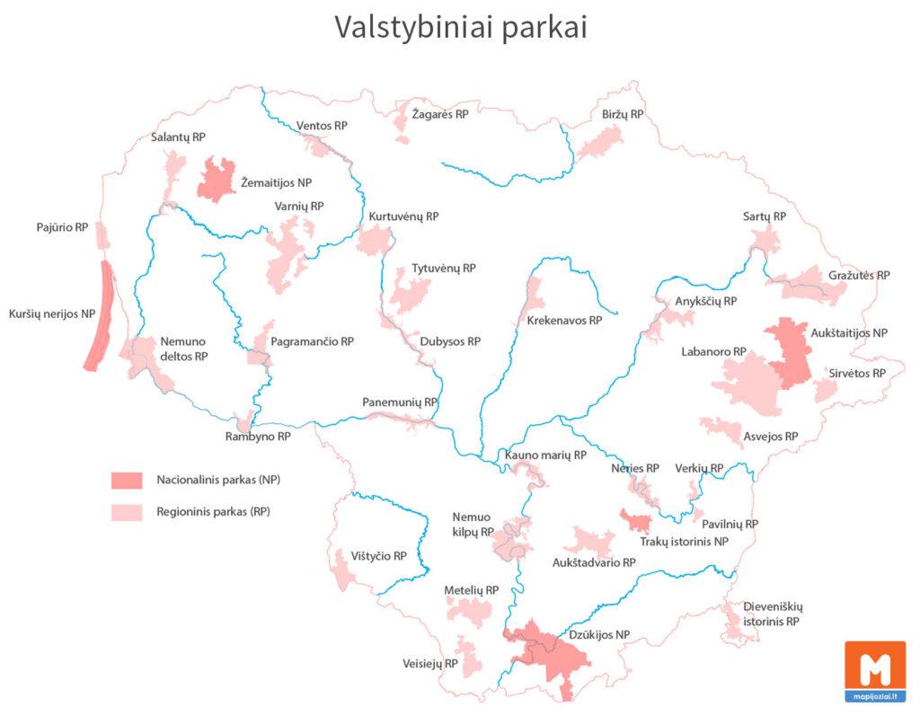 Valstybiniai parkai