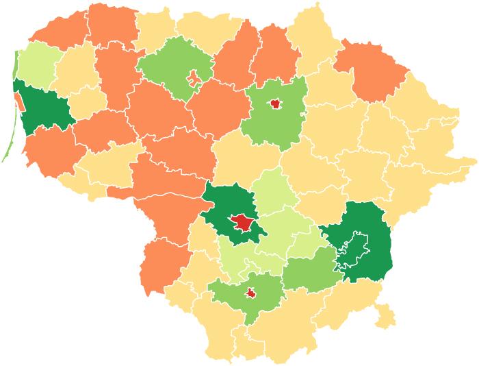 Vidaus ir užsienio migracija Lietuvoje