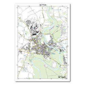 Alytaus žemėlapis