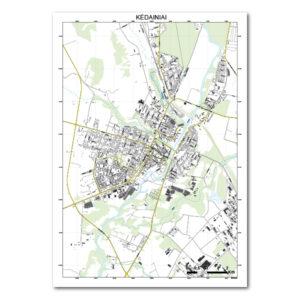 Kėdainių žemėlapis