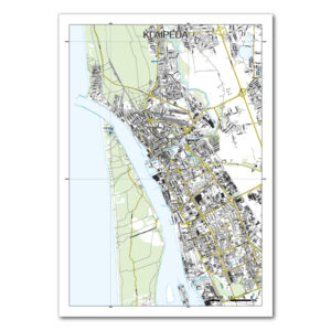 Klaipėdos žemėlapis