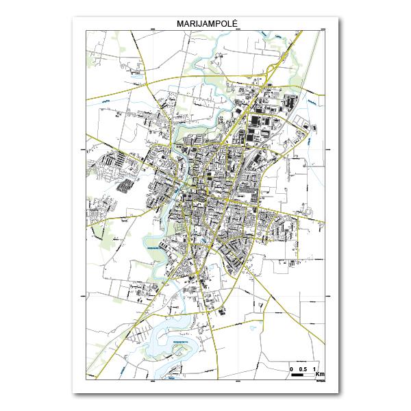 Marijampolės žemėlapis